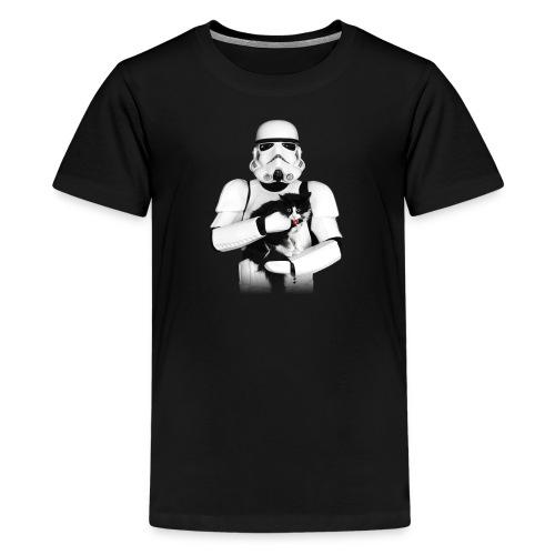 Stormtrooper Cat - Kids - Kids' Premium T-Shirt