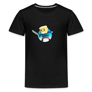 BlockBoy Swordsman - Kids' Premium T-Shirt