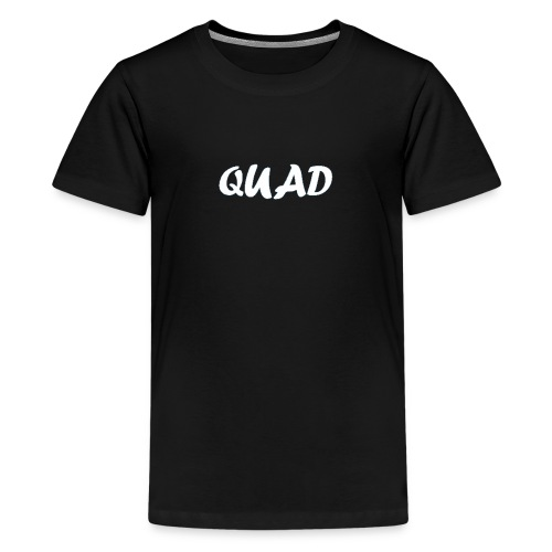 Kids Quad Shirt (Black) - Kids' Premium T-Shirt