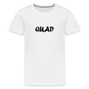 Kids Quad Shirt (White) - Kids' Premium T-Shirt