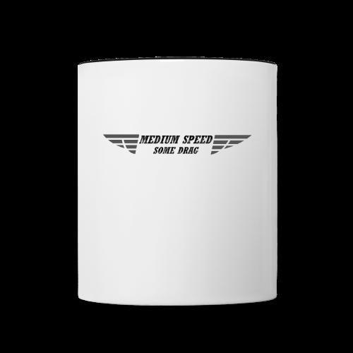 Medium Speed Some Drag - Contrast Coffee Mug