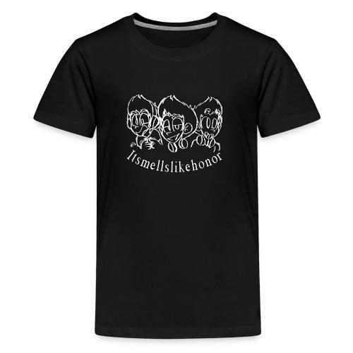 Itsmellslikehonor Banner Logo - Kids' Premium T-Shirt