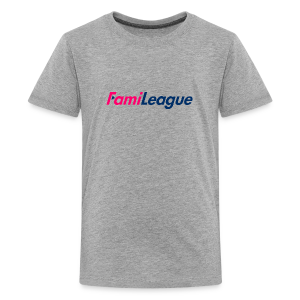 FamiLeague T-Shirt (Grey) - Kids' Premium T-Shirt