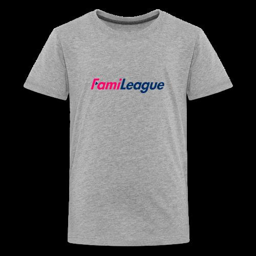 FamiLeague T-Shirt (Grey) - Kids' Premium T-Shirt