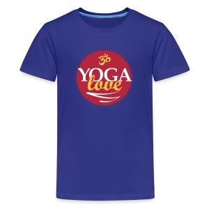 YOGA LOVE - Kids' Premium T-Shirt