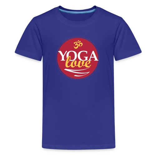 YOGA LOVE - Kids' Premium T-Shirt