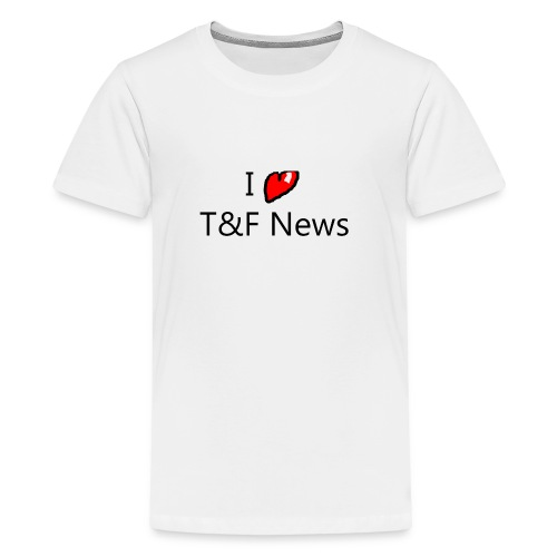 I love t&f news t-shirt - Kids' Premium T-Shirt