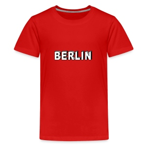 BERLIN block-font - Kids' Premium T-Shirt