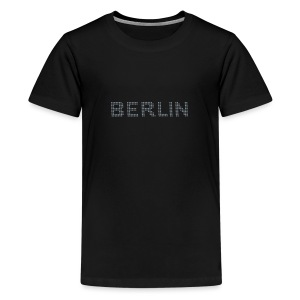 BERLIN dots-font - Kids' Premium T-Shirt