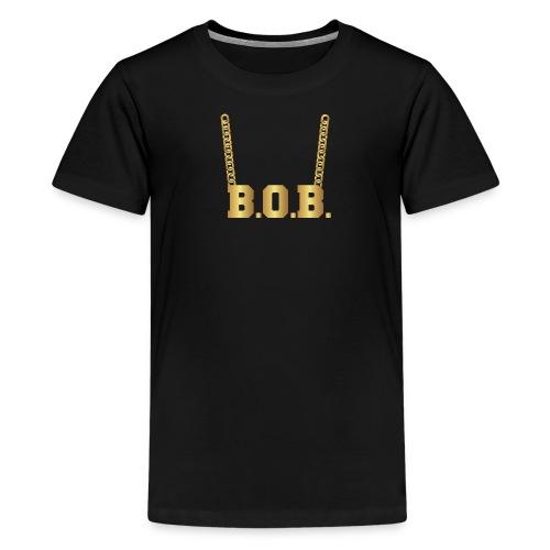 Real Notorious B.O.B. Size - Kids' Premium T-Shirt