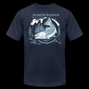 Rainbow Warrior - Men's Fine Jersey T-Shirt