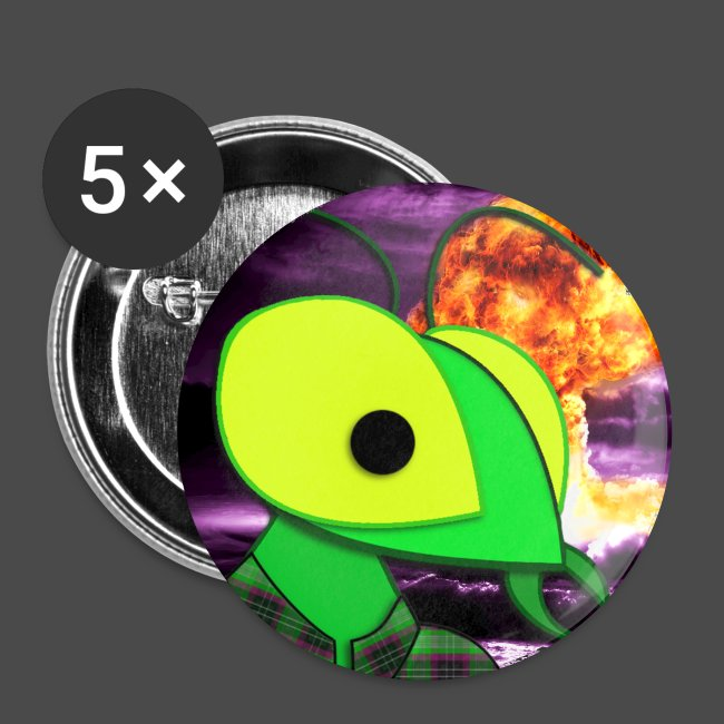 Mantis Bomb Buttons [Large] (5 Pack)