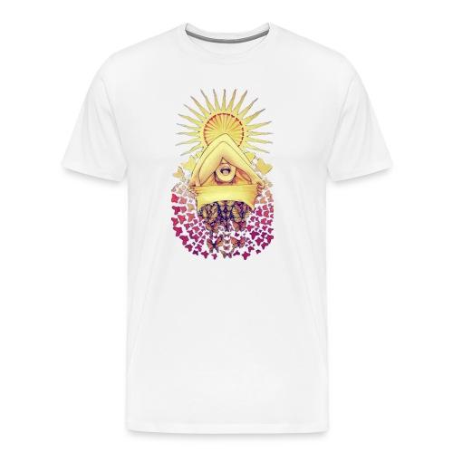 Woman Butterfly - Men's Premium T-Shirt