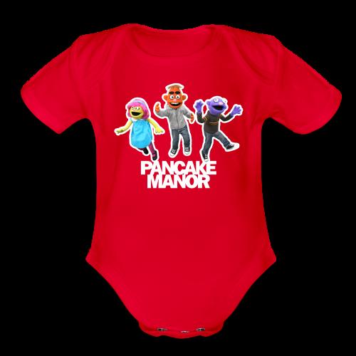 BABY (18 Months): Jump Bodysuit - Organic Short Sleeve Baby Bodysuit