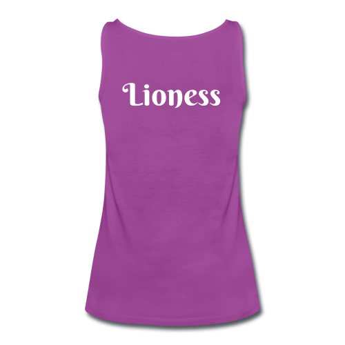 Lioness Plus Size T - Women's Premium Tank Top