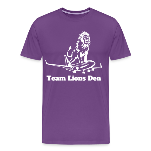 Lioness Plus Size T - Men's Premium T-Shirt