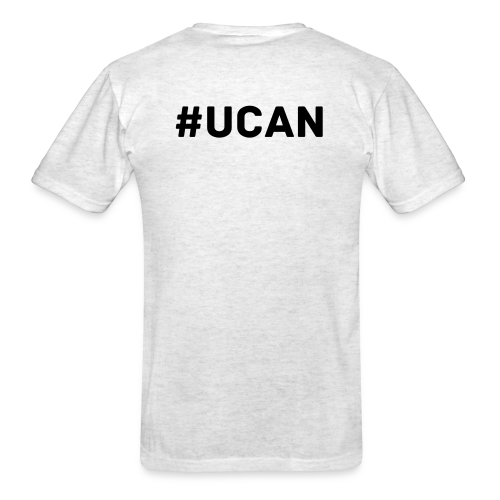 Team Lions Den #UCAN - Men's T-Shirt