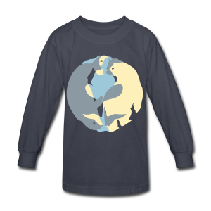 Spirit of the North Shirts - Kid's Long Sleeve T-shirt - Kids' Long Sleeve T-Shirt