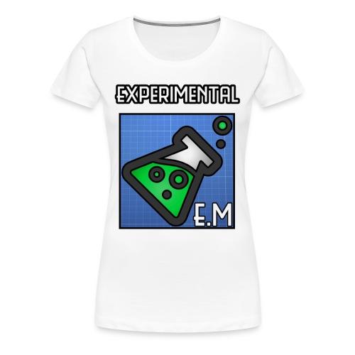 Women's Experimental Big - Women's Premium T-Shirt