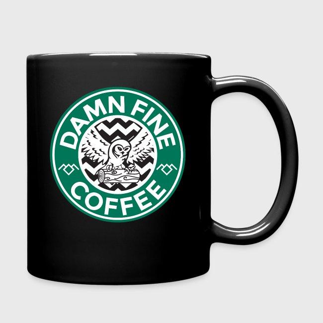 Color Fine Of CoffeeFull Peaks Mug Starbucks Parody Cup Damn Twin clJF1K