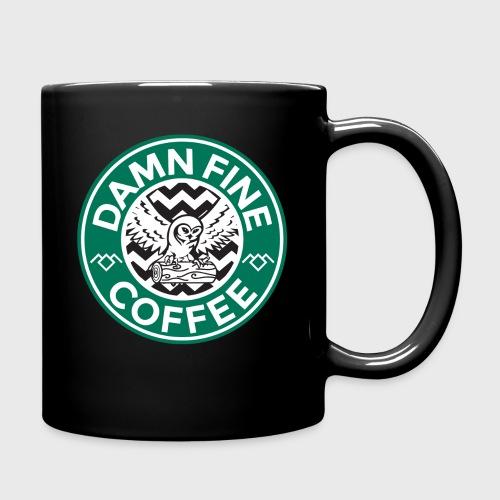 Twin Peaks Starbucks Parody Damn Fine Cup of Coffee - Full Color Mug