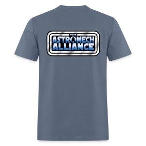Astromech Alliance BACK LOGO (MAN) - Men's T-Shirt