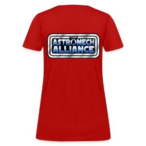 Astromech Alliance BACK LOGO (LADY) - Women's T-Shirt