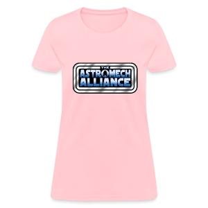 Astromech Alliance CHEST LOGO (LADY) - Women's T-Shirt