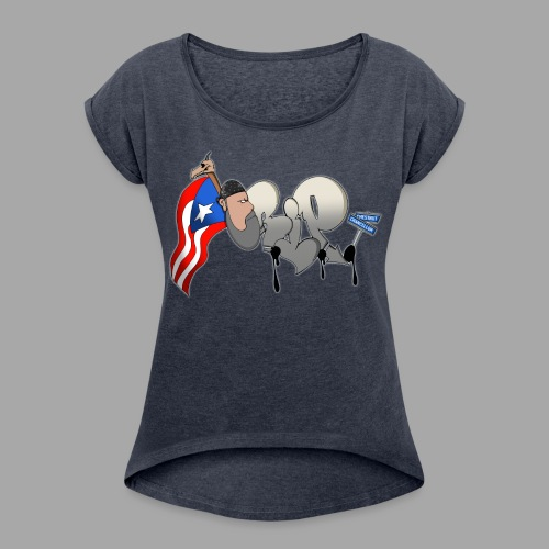 CR.I.P LADIES ROLLED SLEVES T - Women's Roll Cuff T-Shirt