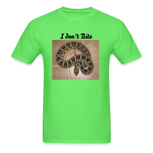 Yes they do bite:) - Men's T-Shirt