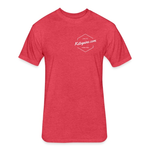 Forging Bodies - Male - Fitted Cotton/Poly T-Shirt by Next Level