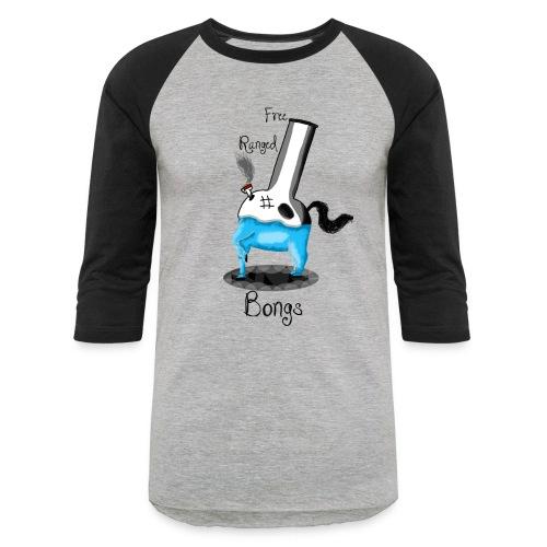Free Ranged Bongs - Baseball T-Shirt