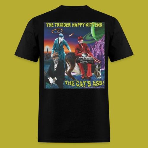 The Cat's Ass! on BACK - Men's T-Shirt - Men's T-Shirt