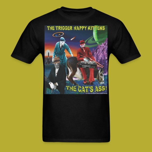 The Cat's Ass! on FRONT - Men's T-Shirt - Men's T-Shirt