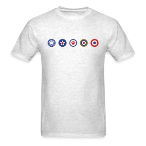 Allies: Allied Logos Tee - Simple - Men's T-Shirt
