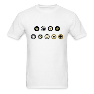 Axis & Allies: Simple Country Logo T-Shirt - Men's T-Shirt