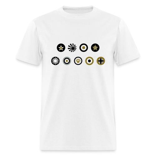 Axis & Allies: Simple Country Logo T-Shirt - Men's T-Shirt