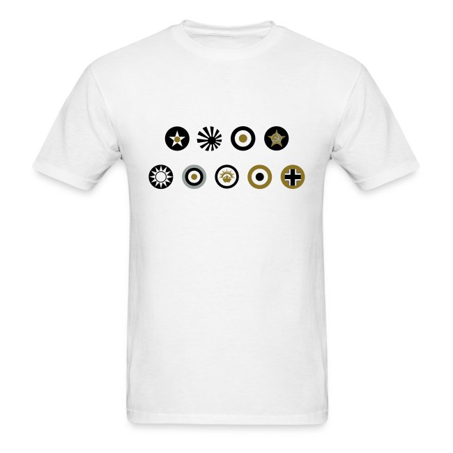 Axis & Allies: Simple Country Logo T-Shirt
