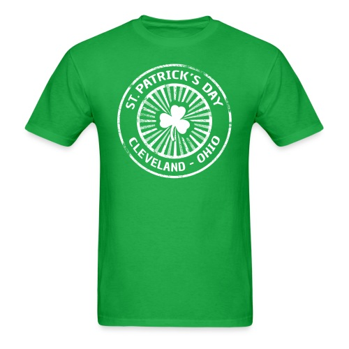 ST, PATTY'S DAY CLEVELAND - Men's T-Shirt