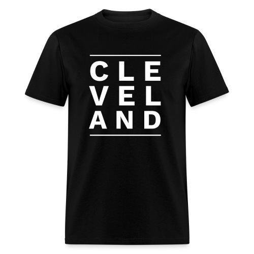 CLEVELAND BETWEEN THE LINES - Men's T-Shirt