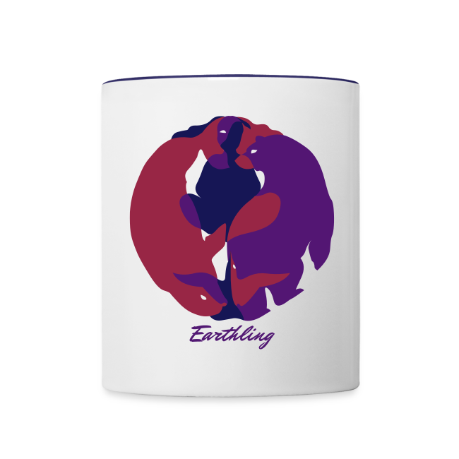 Spirit of the North Cups Personalized Arctic Art Mugs
