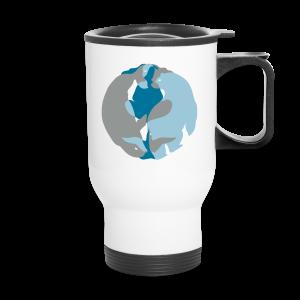 Spirit of the North Travel Mugs Personalized Arctic Art Mugs - Travel Mug