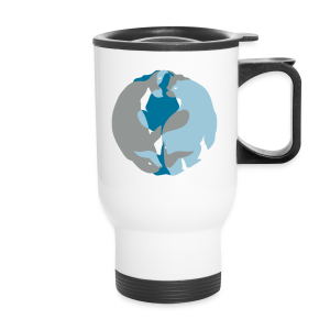 Spirit of the North Travel Mugs Personalized Arctic Art Mugs - Travel Mug