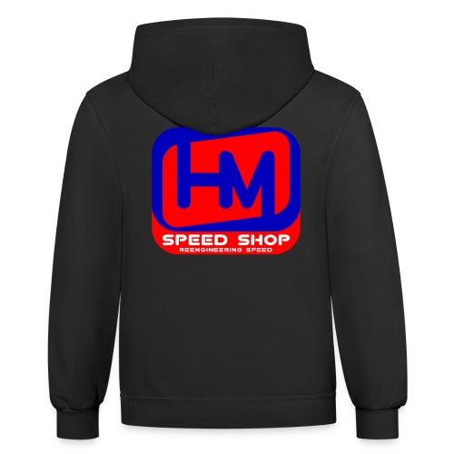 2017 HM Speed Shop™ Dual Shade Hoodie - Contrast Hoodie