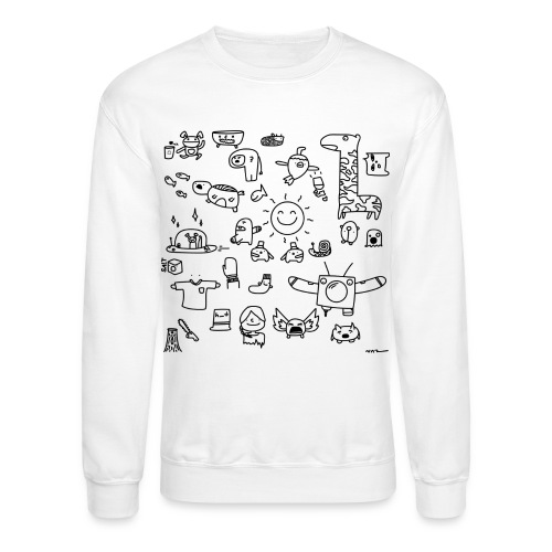 Friends (black and white) - Crewneck Sweatshirt