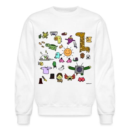Friends (coloured) - Crewneck Sweatshirt