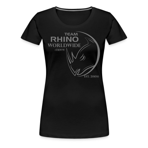 Org Black & Gray Women's T-Shirt - Women's Premium T-Shirt