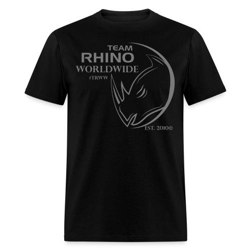 Org Black & Gray Men's T-Shirt - Men's T-Shirt