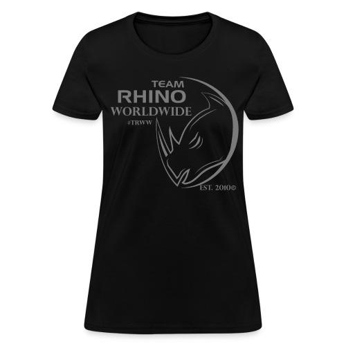 Org Black & Gray Women's T-Shirt - Women's T-Shirt