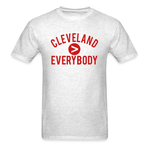 CLEVELAND IS GREATER THAN - Men's T-Shirt
